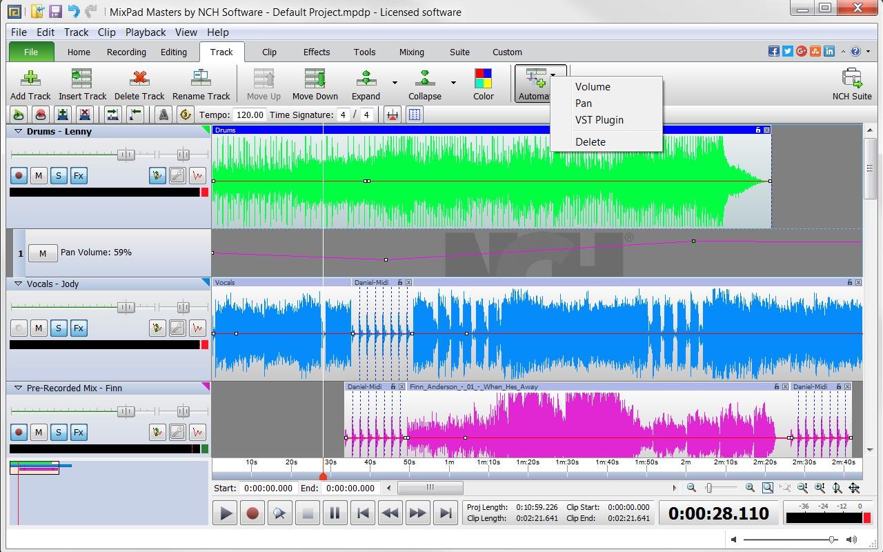 MixPad 6.16 Crack + Registration Code Full Version 2020